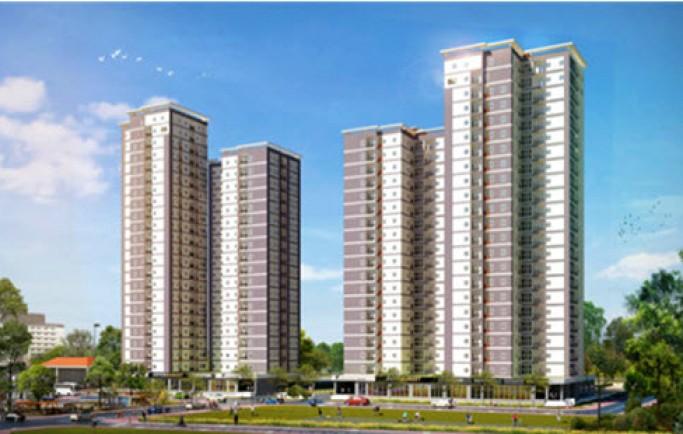 Tòa căn hộ dành 45.000m2 cho cây xanh và tiện ích ở Bình Tân