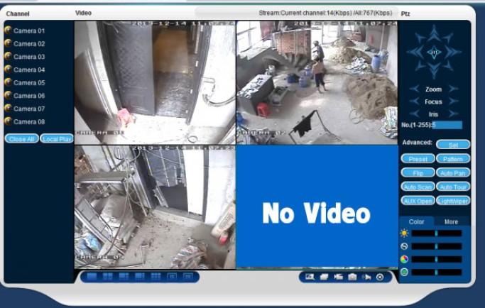 Cách xử lý khi camera quan sát không lên hình