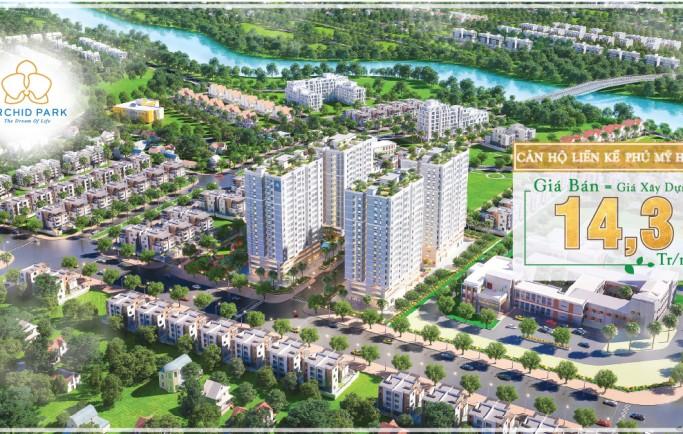 Căn hộ cao cấp dự án Orchid Park đầu tư bởi Cotec đầy đủ thông tin thanh khoản cao diện tích phù hợp.