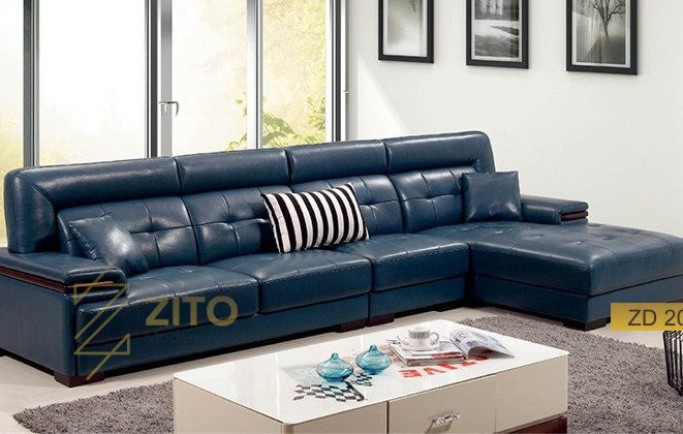 Chọn sofa da nhỏ xinh cho phòng khách nhỏ thêm ấn tượng