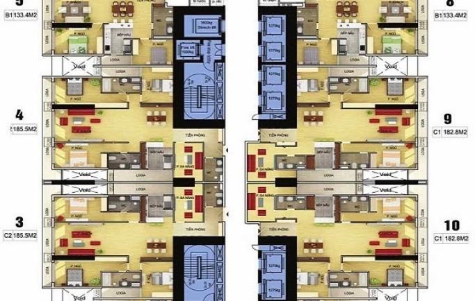 Chung cư Discovery Complex tọa lạc tại 302 cầu giấy