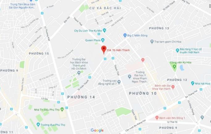 Địa chỉ Dự án Kingdom 101 Quận 10 ở đâu?
