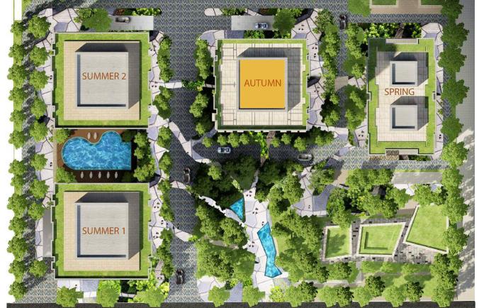 Dự án chung cư Goldseason sở hữu vẻ đẹp sang trọng, hiện đại