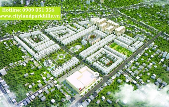 Dự án Cityland Park Hills Gò Vấp quy mô 27ha