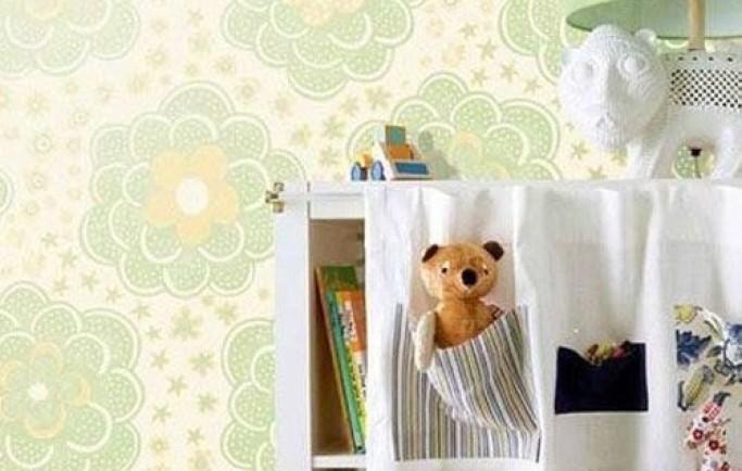 Gửi tới bạn tham khảo mẫu giấy dán tường dễ thương được tạo ra chỉ dành tặng cho phòng bé gái