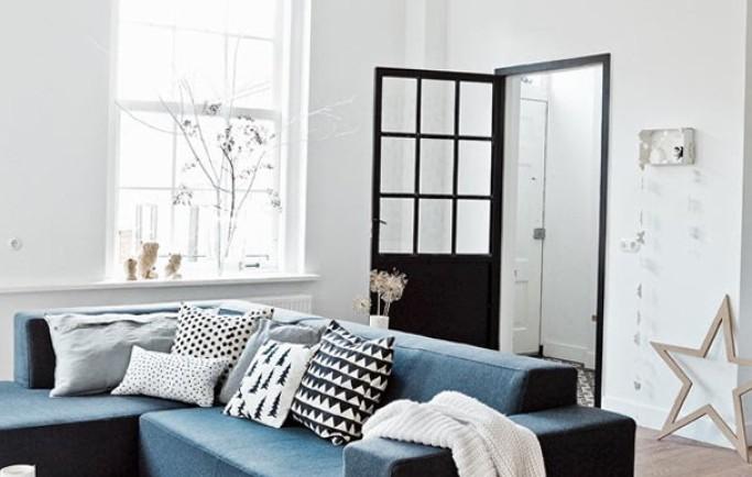 Không gian căn hộ nội thất mùa đông tràn ngập không gian Bắc Âu