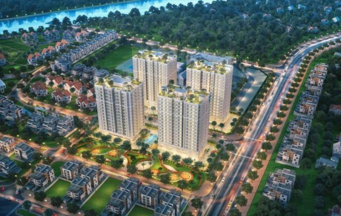 Khu căn hộ Orchid Park Huyện Nhà Bè xây dựng tiêu chuẩn đường rộng rãi