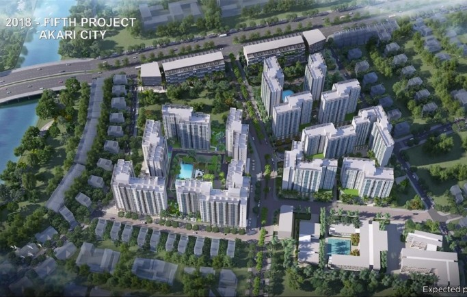 KHU ĐÔ THỊ AKARI CITY あかり市 NISHI NIIPON – NAM LONG – HANKYU HANSHIN