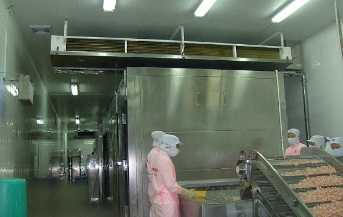 Lắp đặt Hệ thống điện điện lạnh kho lạnh bảo quản hải sản