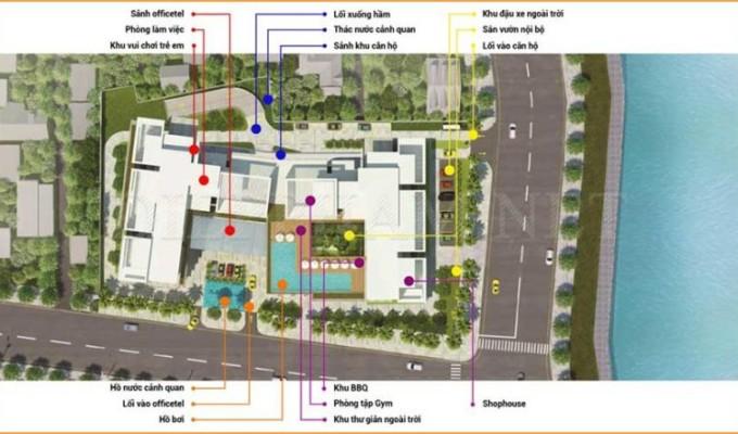 Mặt bằng dự án Masteri An Phú Quận 2 thiết kế với phong cách nổi bật