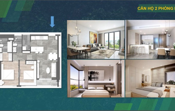Mặt bằng quy hoạch căn hộ King dom 101