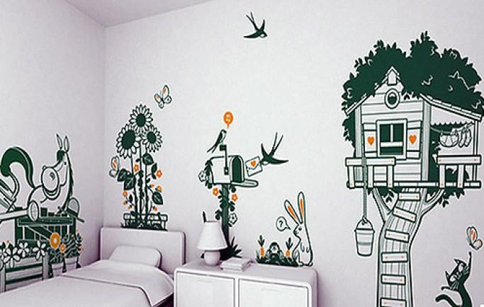 Mẫu tường vẽ có giá trị và làm tăng giá trị thẩm mỹ cho khoảng không gian sở hữu của bạn