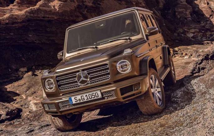 Mercedes G-class thế hệ mới - khẳng định vị thế