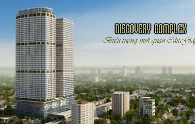 Mở bán đợt cuối chung cư Discovery Complex