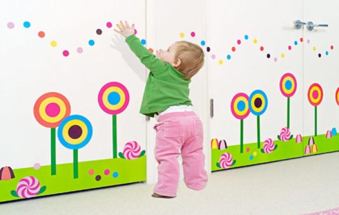 Những bức tường tranh dễ thương tới không gian thơ bé của con (P2)