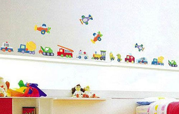 Những mẫu giấy dán tường chất nhất cho phòng bé trai