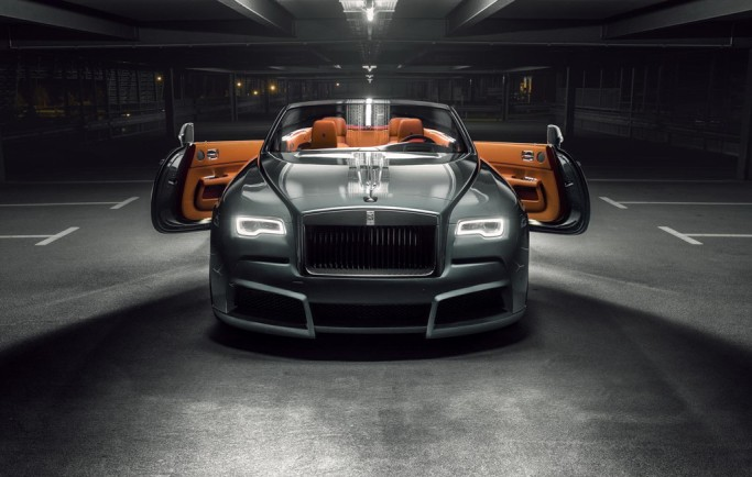 Rolls-Royce Dawn khác lạ với gói độ cơ bắp
