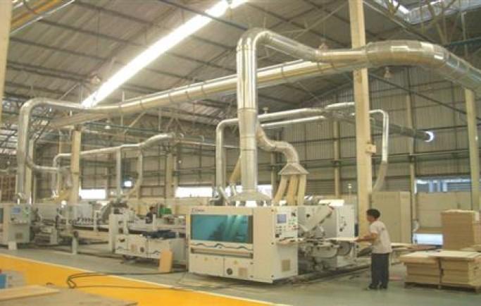 Sơ Đồ của hệ thống xử lý bụi công ty gỗ