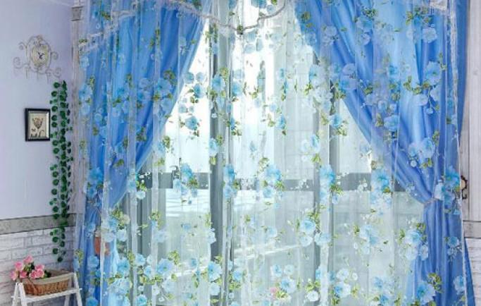 Tham khảo những bộ rèm cửa với phong cách đồng quê ngọt ngào