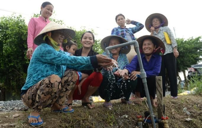 Thêm một công trình nước sạch tại Tiền Giang