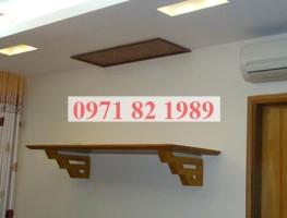 Thiết kế bàn thờ treo tường hiện đại, hợp phong thủy với mọi nhà