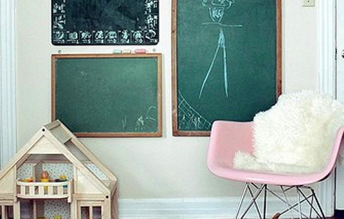 Thỏa sức sáng tạo trang trí tường phòng đến không gian sống của các con