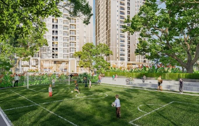 Tiện ích ngoại khu đủ đầy căn hộ chung cư Felizhome P. Mai Động