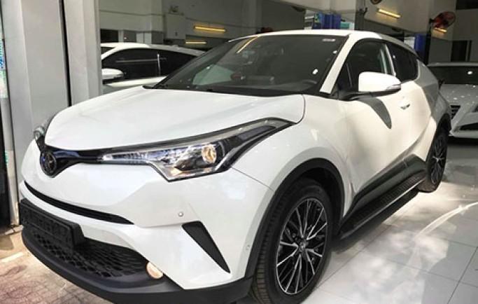 Toyota C-HR - crossover cỡ nhỏ giá gần 1,8 tỷ tại Việt Nam