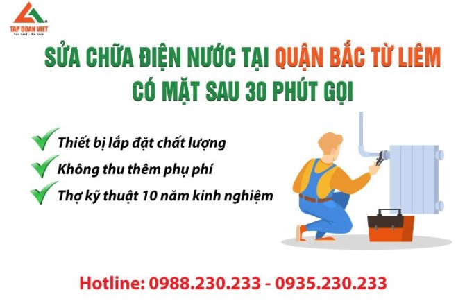 Tư vấn dịch vụ sửa điện nước uy tín tại quận Hà Đông - sửa hết lỗi