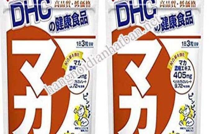 Viên uống Maca DHC giúp làm tăng cường sinh lý