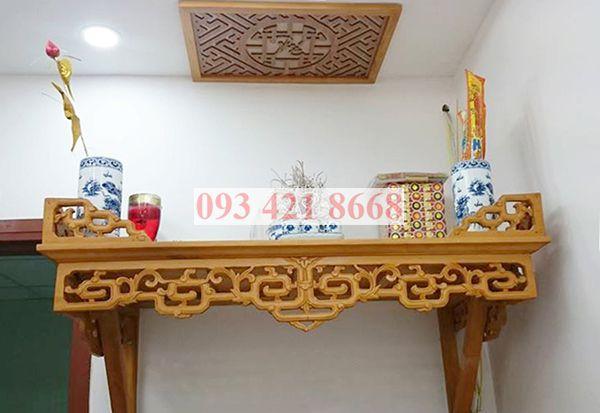 Những loại gỗ tốt để làm bàn thờ treo tường
