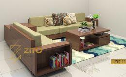 Sofa gỗ có phù hợp với phòng khách lớn?