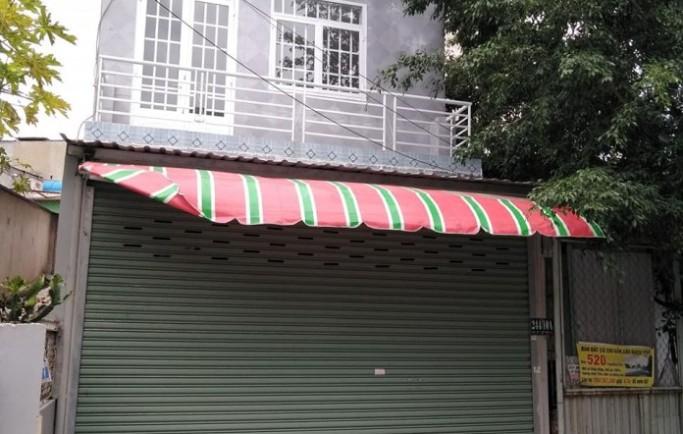 Bán nhà nằm ở đường Thạnh Lộc 15, gần chung cư Thạnh Lộc quận 12