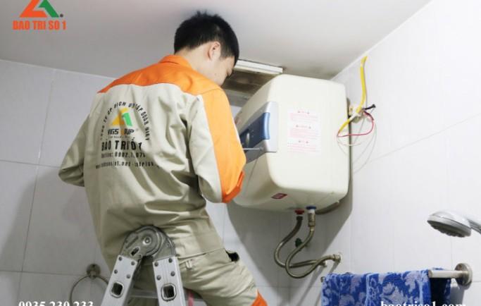 Bảo Trì Số 1 nhận lắp đặt bình nóng lạnh chuyên nghiệp tại nhà