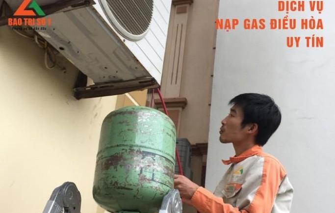 Bảo trì số 1 nhận nạp gas điều hòa chính hãng tại nhà nhanh