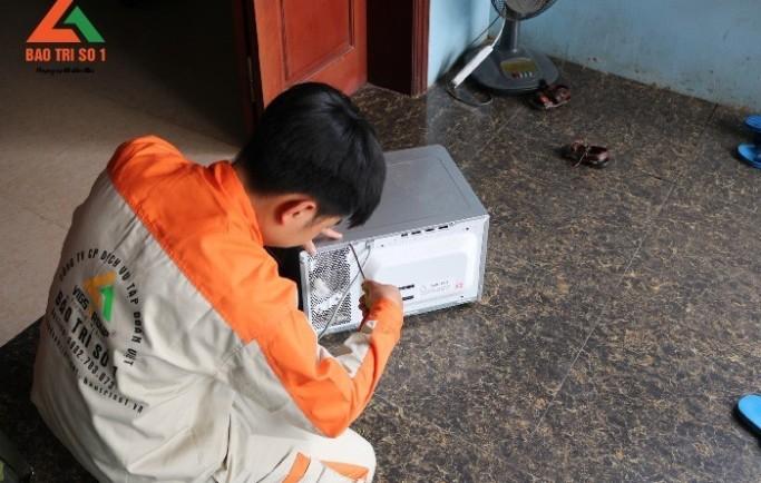 Dịch vụ sửa chữa lò vi sóng tại nhà đảm bảo chất lượng nhất