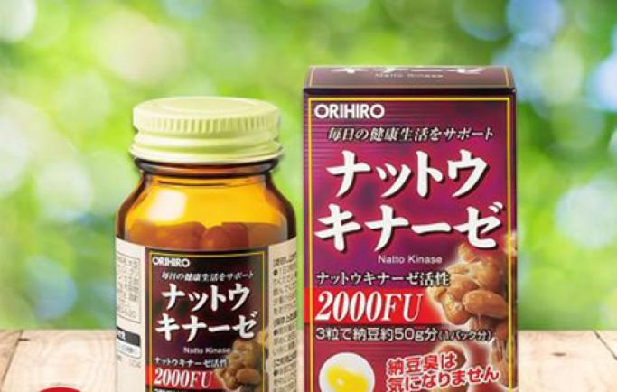Giới thiệu sản phẩm viên uống Nattokinase 3000FU chống đột quỵ tốt