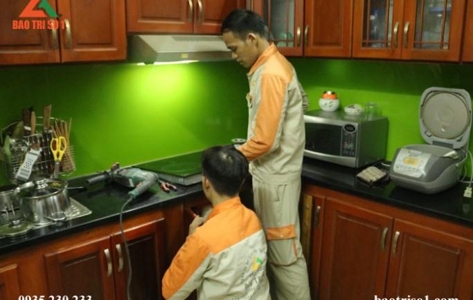 Sửa bếp từ tại nhà đảm bảo khắc phục lỗi dứt điểm chỉ một lần nhanh
