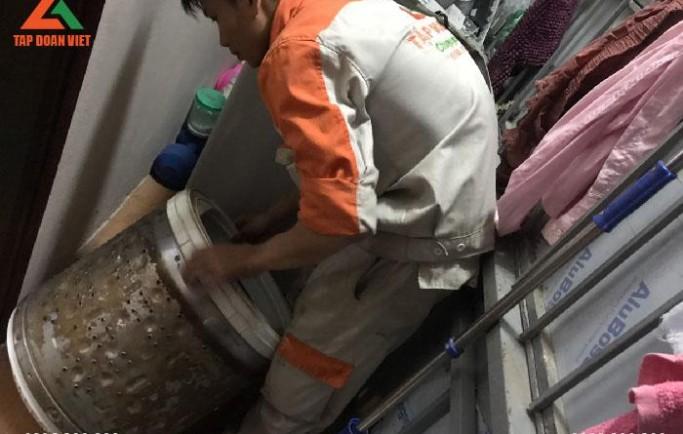 Tập Đoàn Việt sửa máy giặt tại Hà Nội uy tín, chi phí rẻ nhất