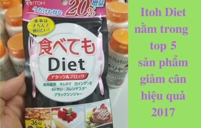 Thuốc giảm cân ITOH Nhật Bản chính hãng tại hàng nội địa nhật bản