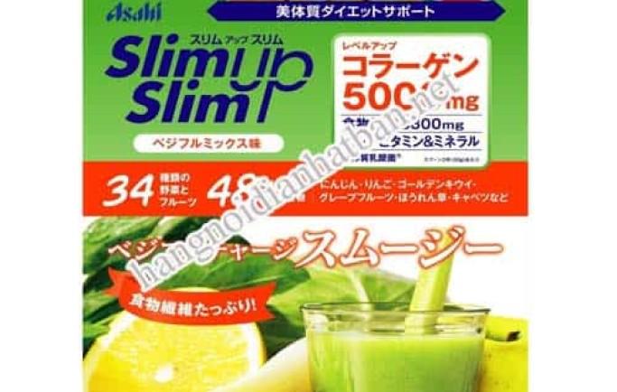Tìm hiểu viên uống giảm cân ASAHI Slim up của nhật bản chính hãng